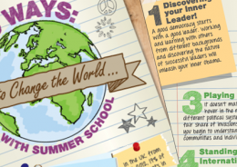 10 Ways: How to Change the World with Summer School